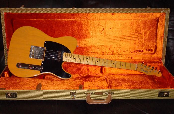 Fender reissue vintage 52 tele confirm