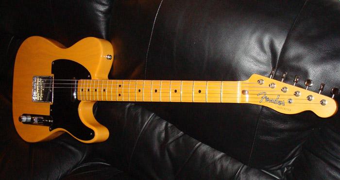 Fender reissue vintage 52 tele seems magnificent